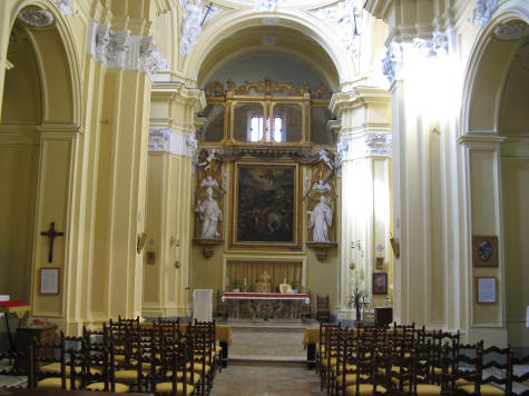 Chiesa di San Paolo Church in Sorrento Italy